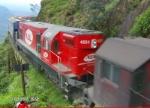 G12 4251 in Curitiba x Paranagua Railway