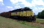 July 4th decorated Hartwell RR GP40