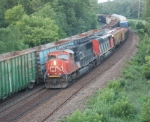 CN power on Q625