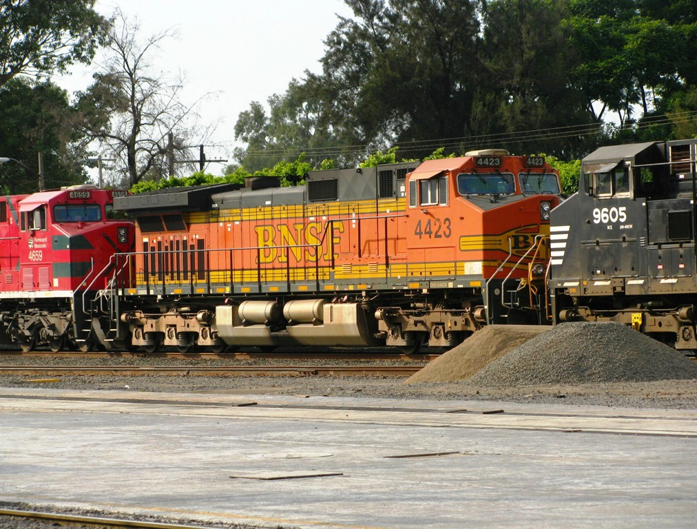 My First BNSF in Mexico!!