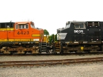 BNSF and NS in mexico