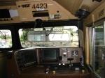 BNSF 4423 Cab View