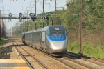 Parting shot as AMTRAK 2006 takes up the rear of a NB Acela