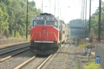 MARC 65 takes up the rear as rear cab control pikots this SB consist