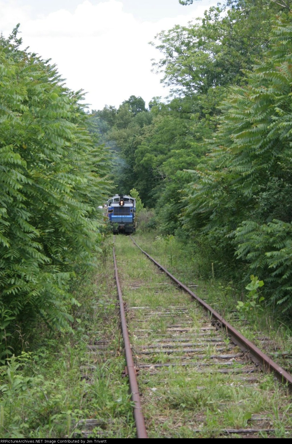 """first """"run"""" of the Zanesville and Western after being moved to branch by Ohio Central"""
