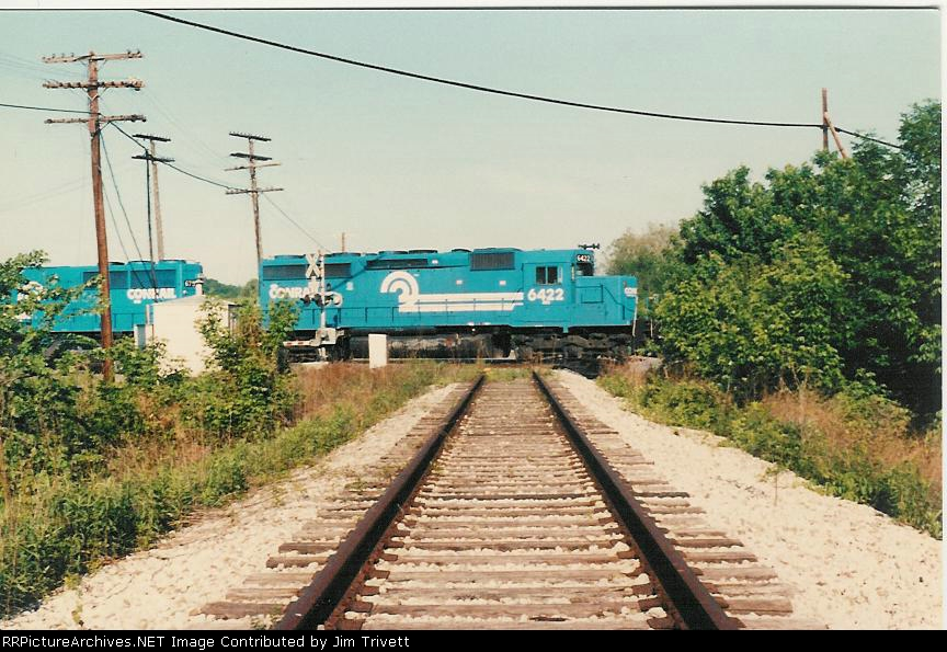 Helpers return lite to Hobson after shoving a coal train to New Lexington