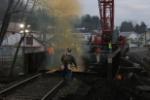 Work continues on Glouster bridge