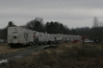 NS camp cars on the spur at Chauncey