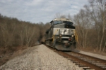 NS 7609 leads 380 south