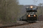 NS 7671 leads 610 north