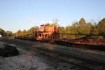 NS welded rail train