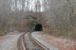 Tunnel on the Secondary near Dyesville
