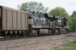 NS 7589 and NS 7610 earn their keep shoving a coal train