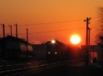 NS 30A aTBryan Ohio at sunset