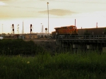 BNSF 5716 at Sunset