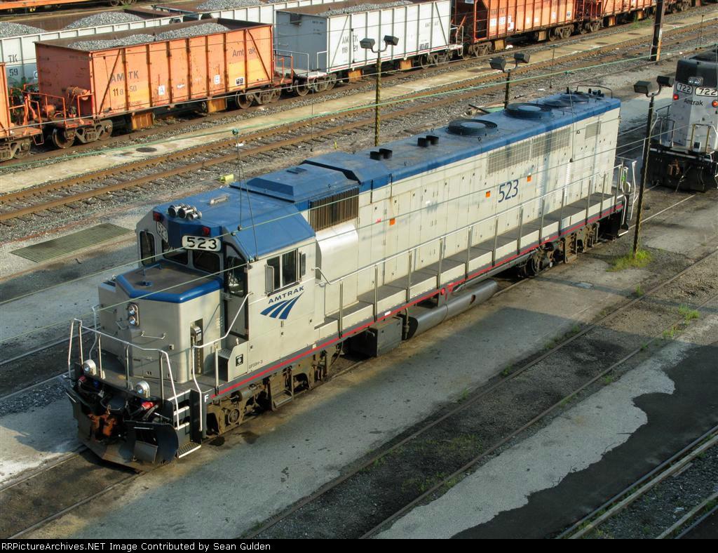 Amtrak EMD GP38H-3 523