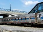Amtrak Budd Diner 8551