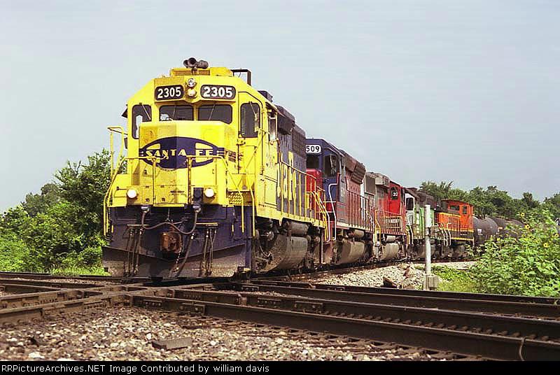 BNSF'S Thayer Sub