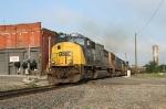 CSX 4542 leading SB coal train