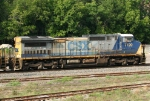 CSX 7720 leading NB intermodal