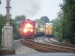 CSX 5512 with WO31 has moved up to take the place vacated by local J759