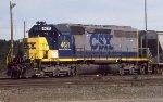 CSX 4611 B yard job
