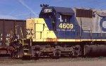 CSX 4609 at B yard