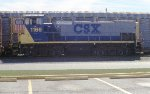 CSX 1166 on the local departure yard