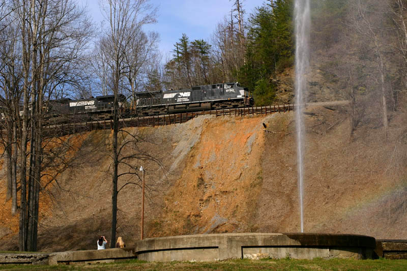 New Foamers Are Created As NS 9790 Passes Andrews Geyser