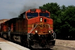 Here's a closeup of BNSF C44-9Ws 5067.