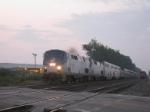 Westbound Amtrak