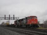 CN 5696 leading NS 184