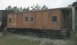 ex-Southern Bay-Window Caboose X519