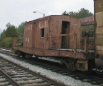 ex-Southern Transfer Caboose XC4