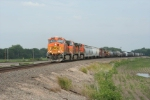 BNSF 4131 running the Highside.