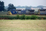 CSX 7820 leads Q78 northbound