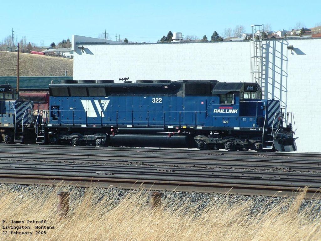 MRL 322 SD45