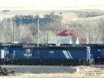 MRL 602 amongst other MRL locomotives awaiting repairs