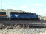 MRL 346 SD45 assigned to helper duty