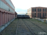 MRL 8905 SD45 moving off transfer table