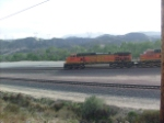 BNSF 5234 leading the train