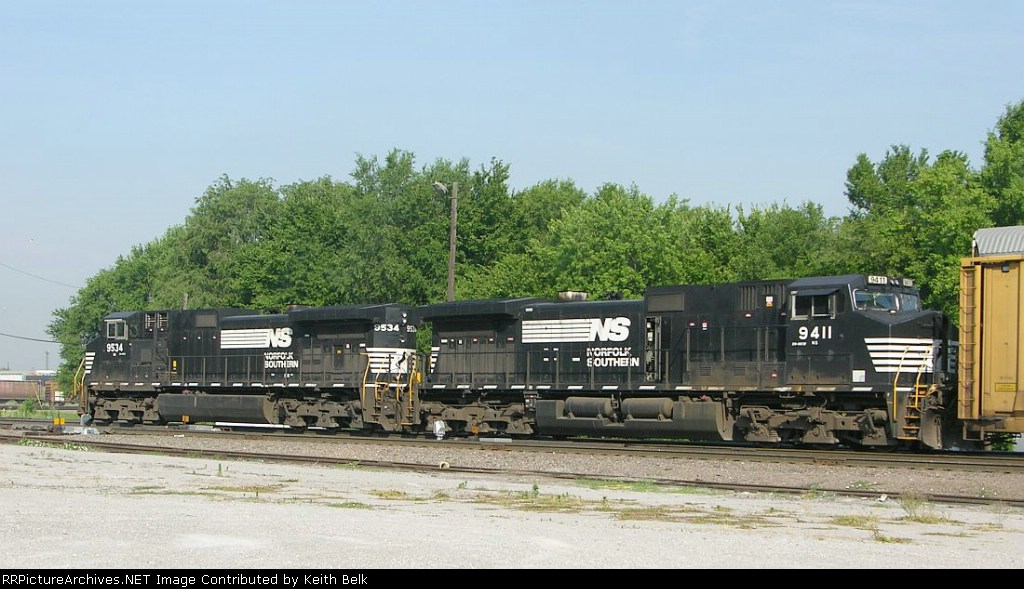 NS 9534 and 9411