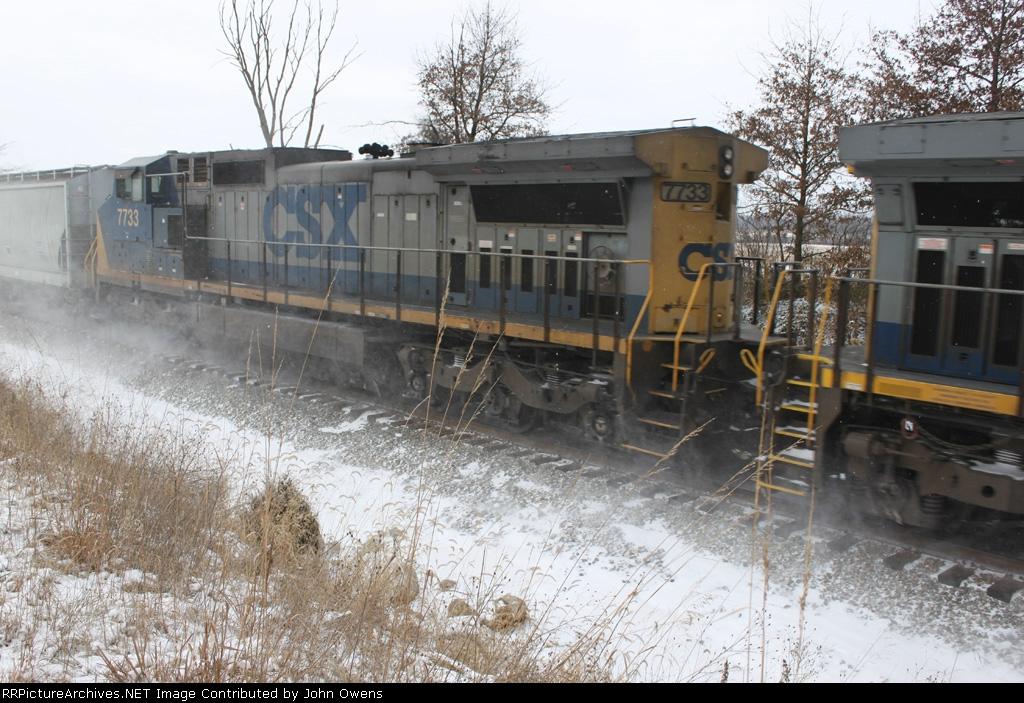 CSX 7733/CSXT Q534