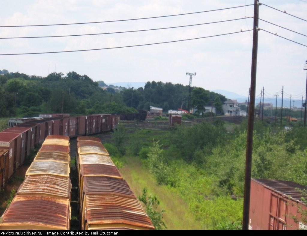 Railcar storage