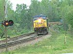 CSX Train Q181 heads south