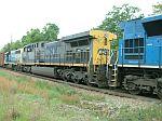 CSX 437 on train Q692