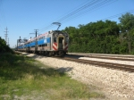 METX 133 at Flossmoor Station