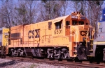 CSX 9501 DIT heading for Waycross