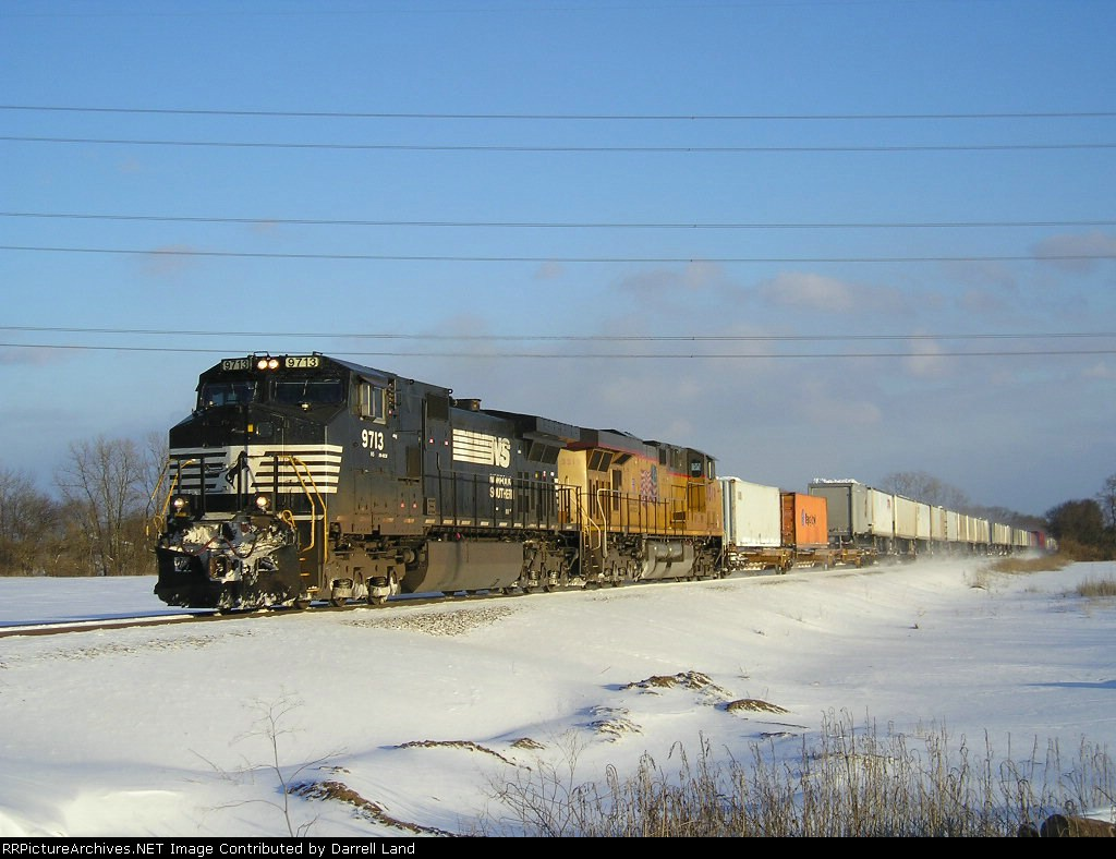 NS 9713 On NS 282 Westbound
