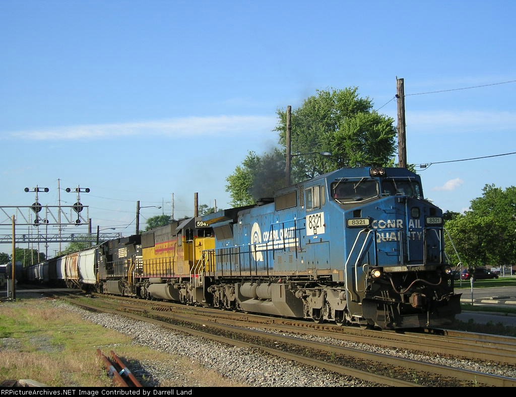 NS 8321 On NS 56 W Eastbound